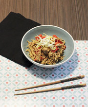 Yaki (stir-fried) soba noodles