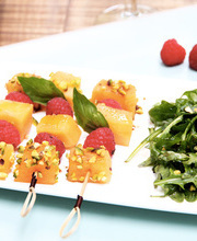 Mini skewers with a difference