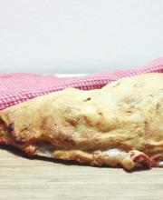 Neapolitan-style pizza calzone