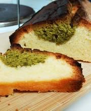 Matcha pound cake