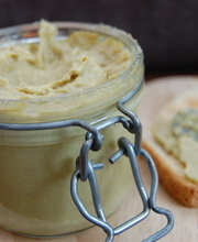 Potted leek pâté