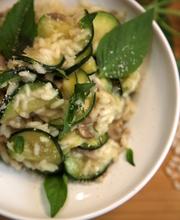 Zucchini risotto