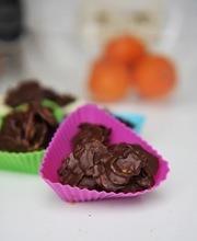 Rice Krispies treats with chocolate