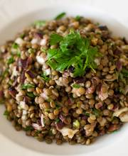 Good old lentil salad