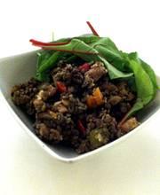 Old-fashioned lentil salad