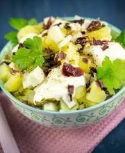 Slimmer's potato salad