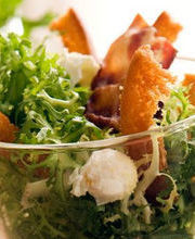 Lyonnaise salad, remixed