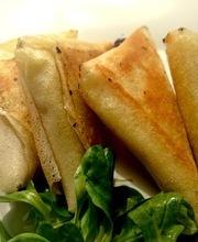 Pineapple chicken samosas