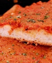 Traditional Sicilian pizza from my youth