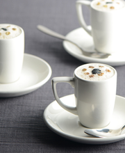 Puy lentil soup with truffle froth  (froth similar to what comes on a cappuccino)