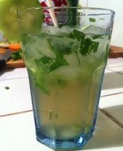 Spicy Cucumber Cocktail