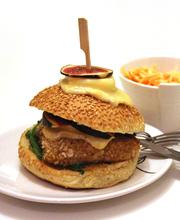 Sweetie crispy chicken burger