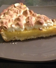 Lime and Pineapple Meringue Pie