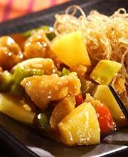Chicken and pineapple stir-fry