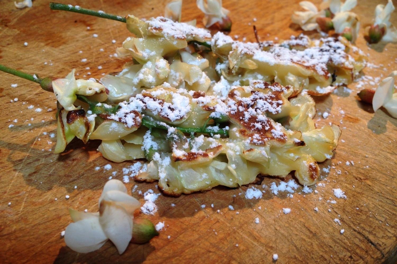 Acacia Blossom Fritters Youmiam