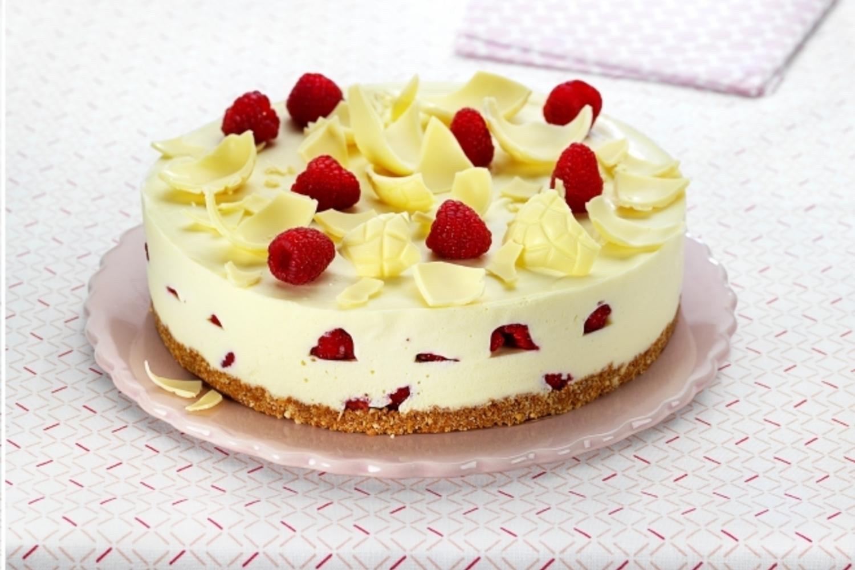 cheesecake au chocolat blanc et framboises youmiam. Black Bedroom Furniture Sets. Home Design Ideas