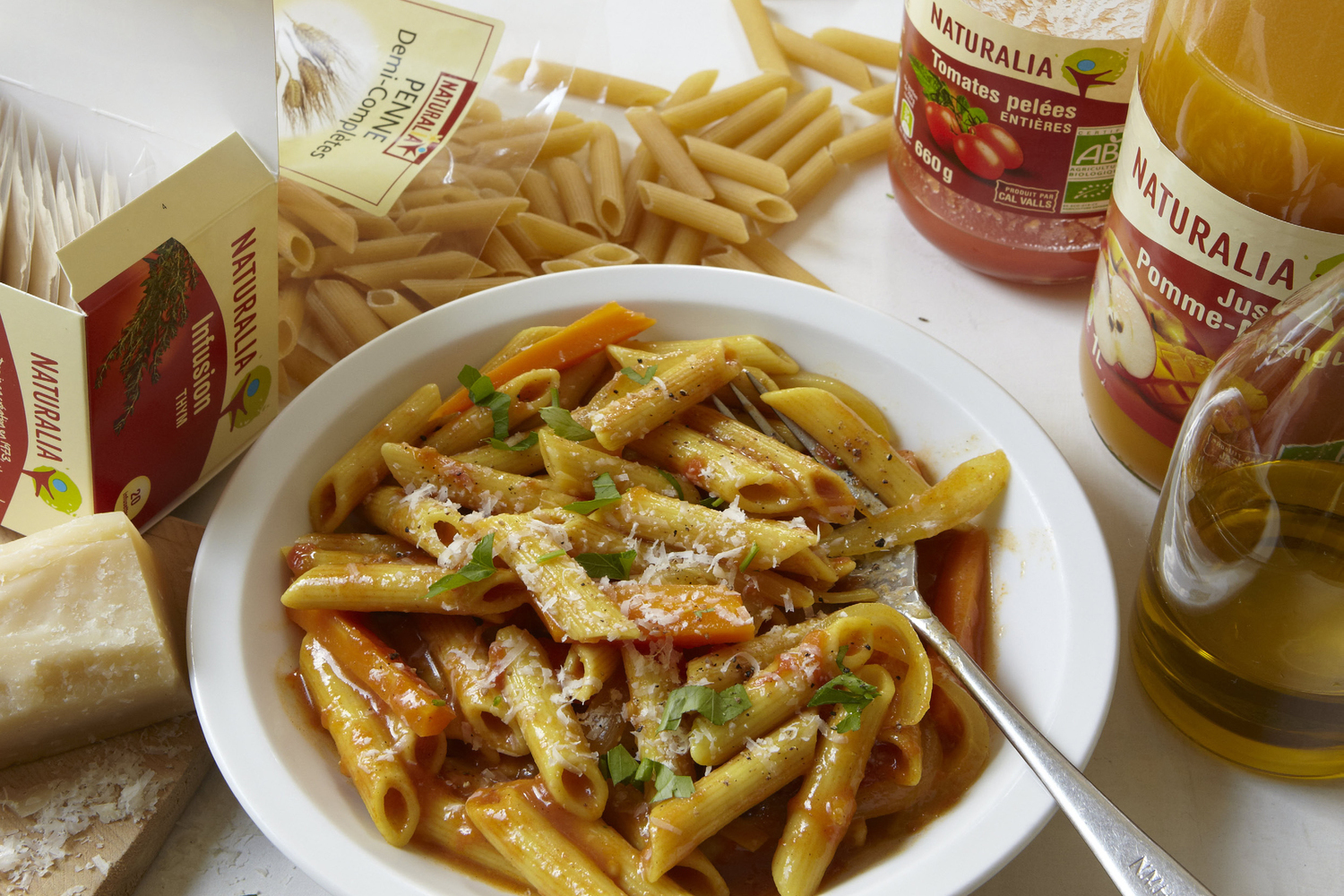 Yvan Cadious Semi Complete Penne With Vegetables Risotto Style