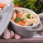 Traditional French veal blanquette, Dairy & gluten-free