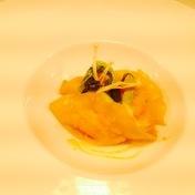Thai shrimp chowder, scampi dumplings