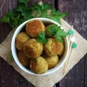 Veggie chickpea and zucchini balls