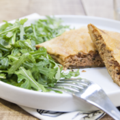Quick brik (or phyllo) pastries with tuna