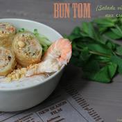 Vietnamese shrimp Bun Tom salad