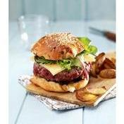 Charolais beef & Comté cheese burger