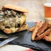 Autumnal burger