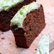 Lime cake with avocado from the blog, Epices & moi
