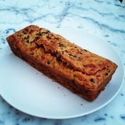 Savory chorizo, olive and zucchini bread