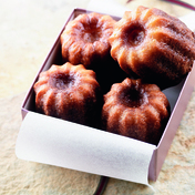 Bordeaux canelé pastries
