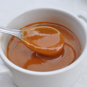 Delicious salted butter caramel