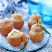 Frosted Corsican clementines