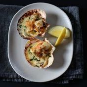 Old-fashioned scallops