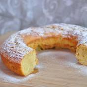 Molten apple ring bread