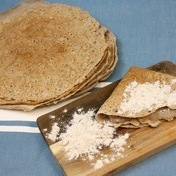 Buckwheat flour crepes