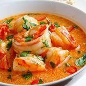Thai shrimp and coconut curry