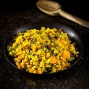 Lentil Dal, Jodhpur style with winter squash