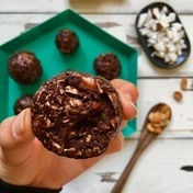 Double Chocolate Peanut Butter Energy Balls