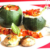 Veggie zucchini duo