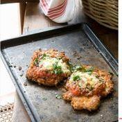Escalopes de pollo a la parmesana