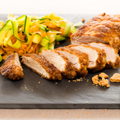 Pork tenderloin with speculoos (ginger cookies)