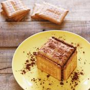 "French """"Petit beurre LU"""" cake"