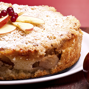 Apple and orange blossom cake (lactose-free)