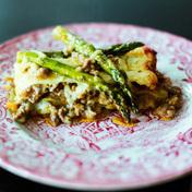 Mango Asparagus Lasagna