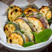 Tandoori-style vegetables