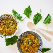 Red lentils / coco