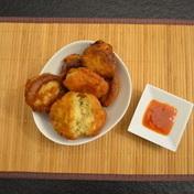 Jocelyne's, tuna accras (fritters)