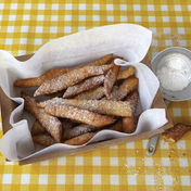 Yvan Cadiou's Bugnes (sweet pastry specialty from Lyon)