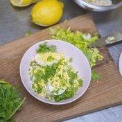 CheZaline's egg mimosa